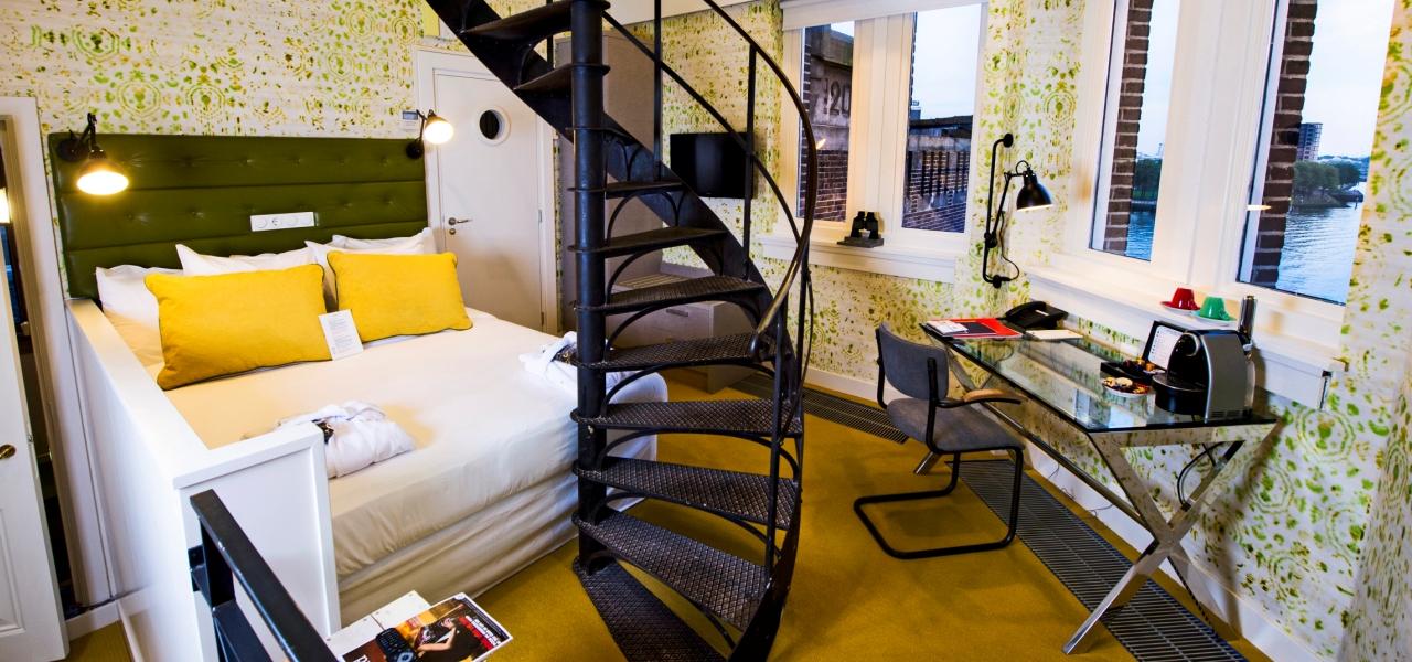 Hny torenkamer maaszijde hotel new york by westcord - Sfeer new york ...
