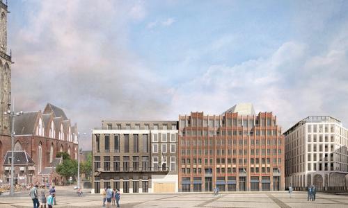 Start bouw WestCord Market Hotel Groningen