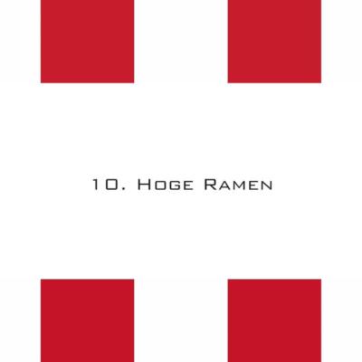 Afl. 10: Hoge Ramen