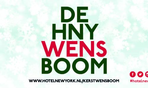 De Hotel New York Kerstwensboom