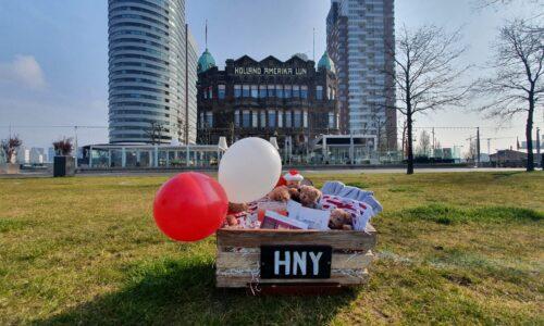 Eerste Hotel New York baby geboren